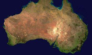 Australia ciekawostki geograficzne