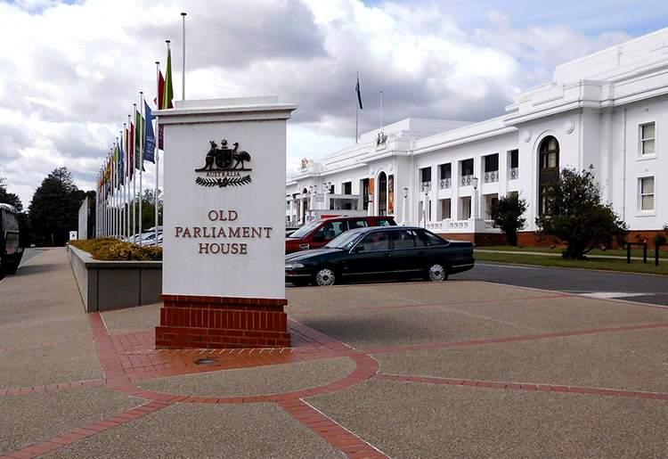 Canberra, stolica Australii