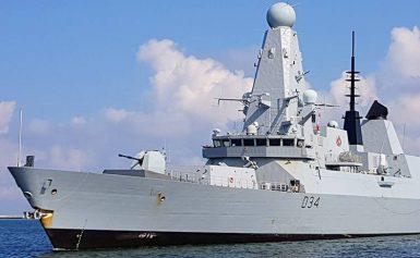 HMS Diamond w Gdyni