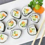 sushi kuchnia japońska Japonia