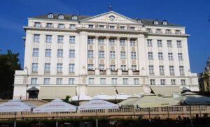 Zagrzeb. Słynny Hotel Esplanade