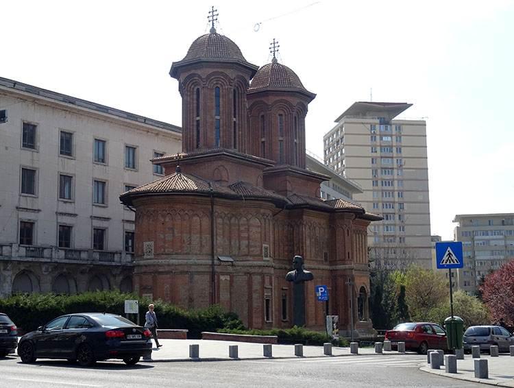 Bukareszt. Cerkiew Kretzulescu (Crețulescu)