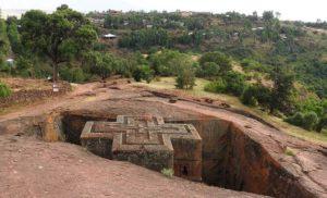 Etiopia. Lalibela i jej kościoły wykute w skale