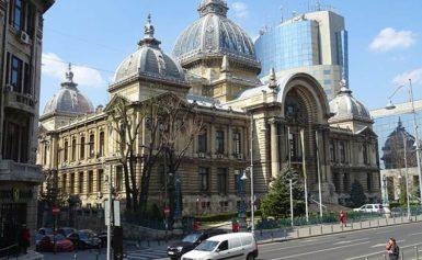 Bukareszt. Pałac CEC
