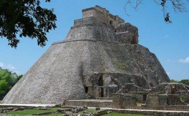 Piramida Czarownika w Uxmal, Meksyk