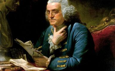 10 cytatów. Benjamin Franklin