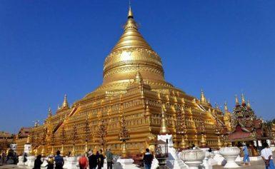Świątynia Szwedagon (Shwendagon) w Birmie