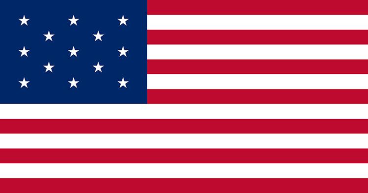 Betsy Ross flaga amerykańska ciekawostki USA Stany Zjednoczone