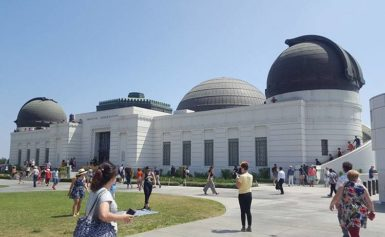 Obserwatorium Astronomiczne Griffith Observatory w Los Angeles