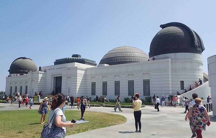 Obserwatorium Astronomiczne Griffith Observatory w Los Angeles