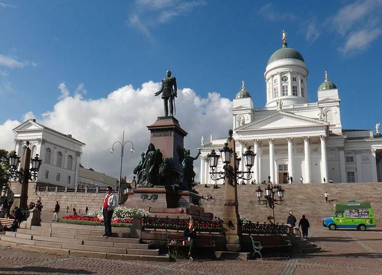 miasto stolica Finlandii Helsinki ciekawostki informacje atrakcje