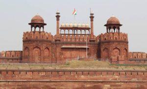 Czerwony Fort w New Delhi