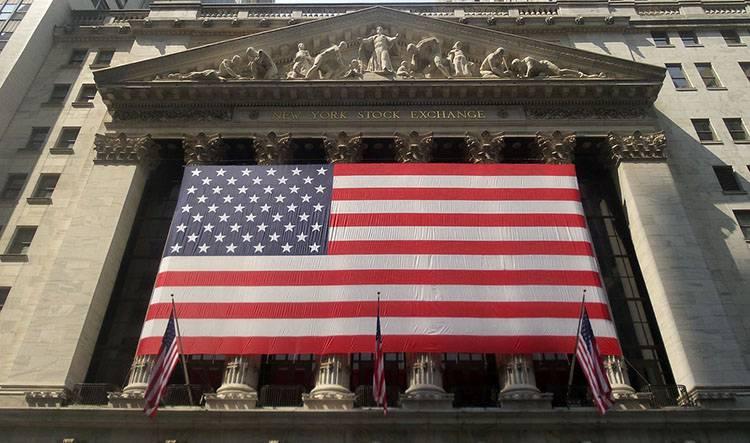Wall Street giełda flaga amerykańska ciekawostki USA Stany Zjednoczone