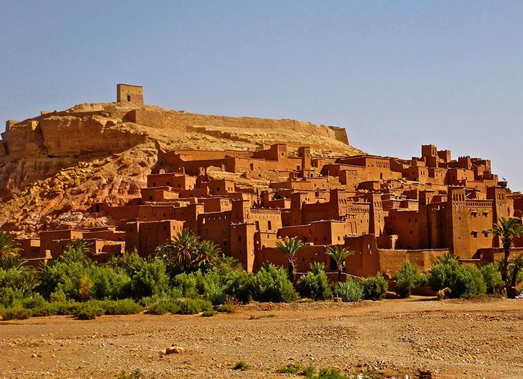 zamek Adobe Maroko ciekawostki