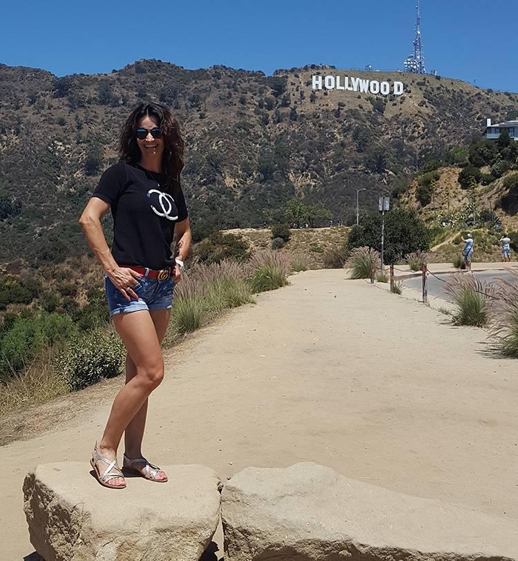 napis znak Hollywood sign Los Angeles ciekawostki
