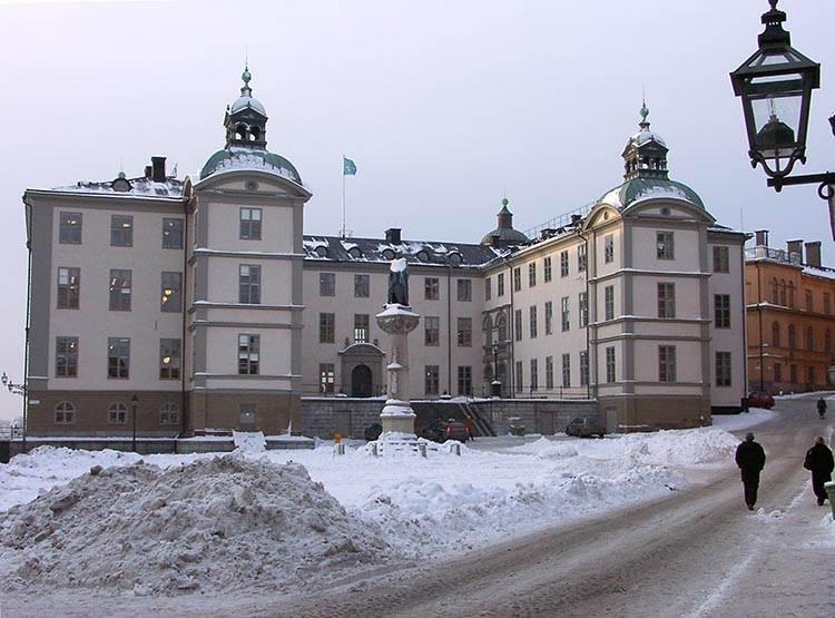 Gamlastan Sztokholm ciekawostki atrakcje zima Szwecja