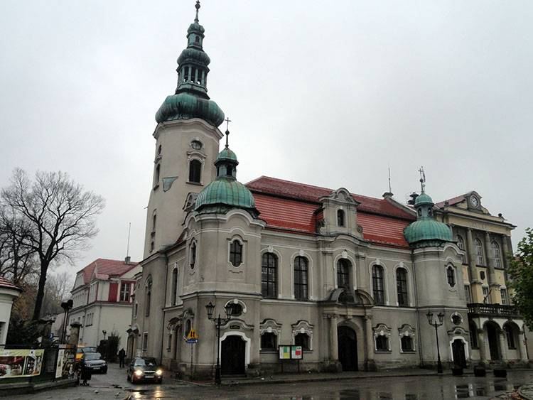 kościół Pszczyna ciekawostki atrakcje