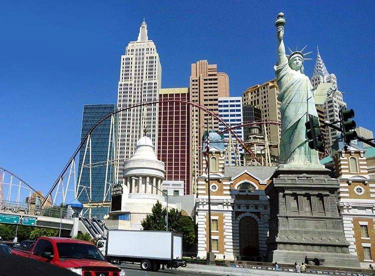 miasto Las Vegas kasyna stan Nevada ciekawostki USA atrakcje