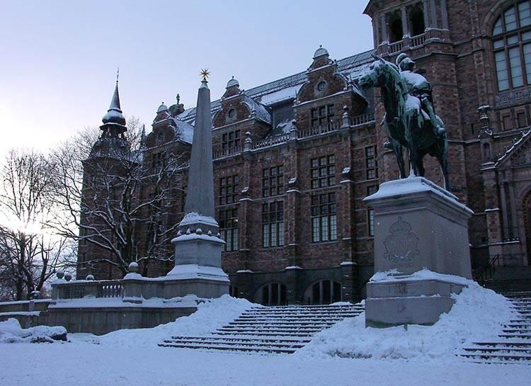 Nordiska Musset Sztokholm ciekawostki atrakcje zima Szwecja