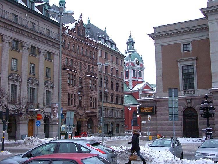 opera Sztokholm ciekawostki atrakcje zima Szwecja