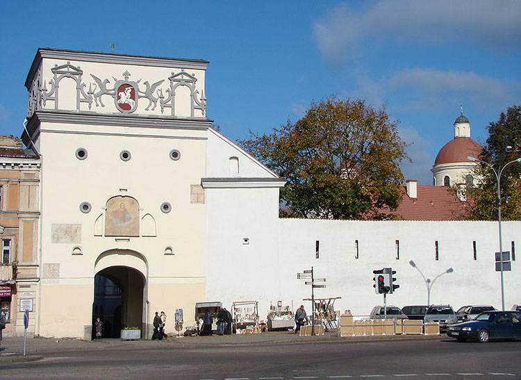 Historia Ostrej Bramy w Wilnie