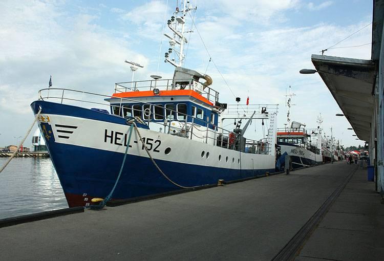 statek port statki Hel Półwysep Helski ciekawostki atrakcje