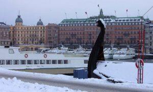 Sztokholm zimą