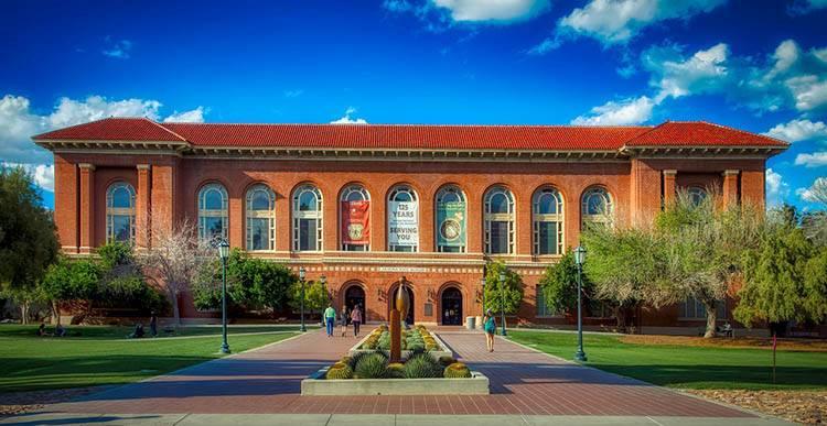 Tucson University of Arizona USA ciekawostki atrakcje