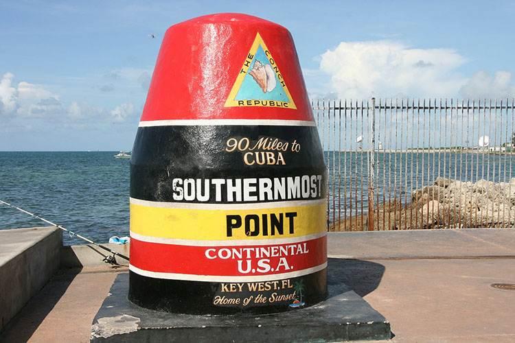 Key West Floryda ciekawostki USA