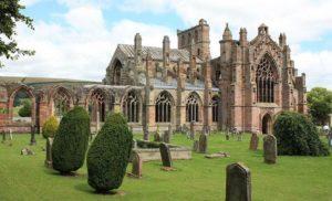 Melrose Abbey, Szkocja
