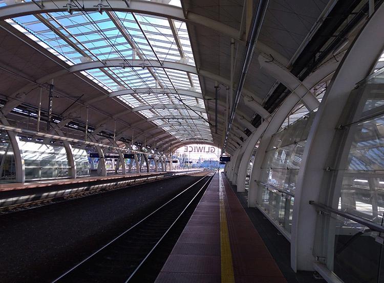 dworzec kolejowy Gliwice ciekawostki