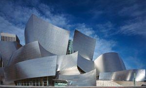 Walt Disney Concert Hall w Los Angeles