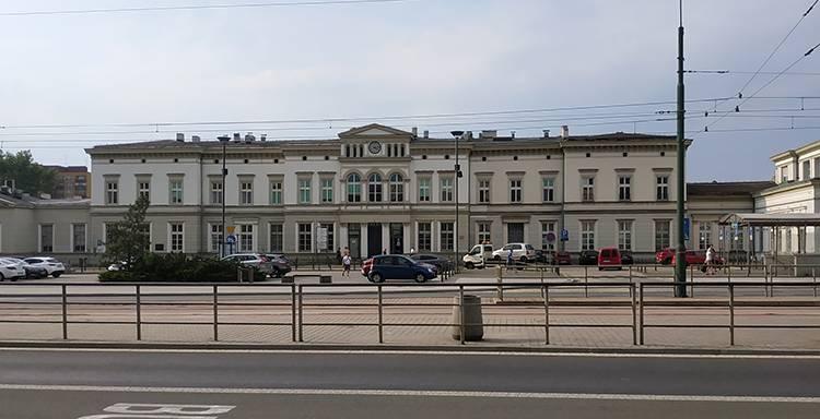 Sosnowiec Główny dworzec PKP ciekawostki atrakcje