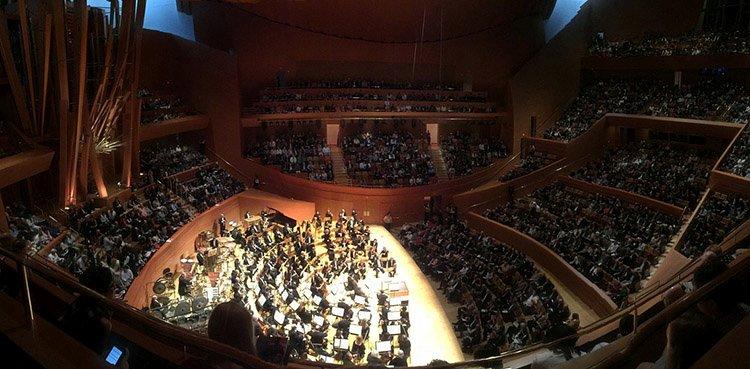Los Angeles Walt Disney Concert Hall koncert symfoniczny