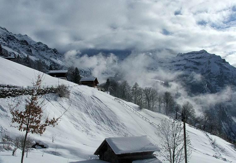 Jungfrau Szwajcaria narty zima