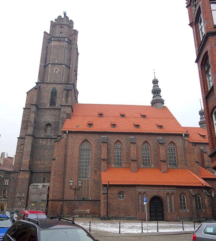 kościół Wszystkich Świętych Gliwice ciekawostki atrakcje zabytki