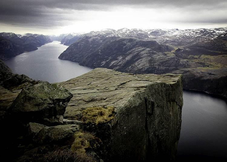 Preikestolen ciekawostki Norwegia ambona