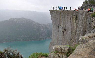 Preikestolen, turystyczny symbol Norwegii