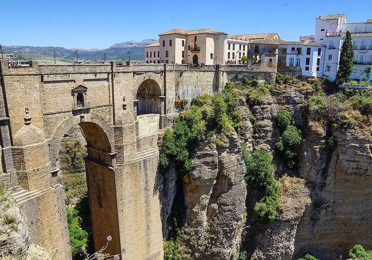 miasto Ronda Andaluzja ciekawostki atrakcje