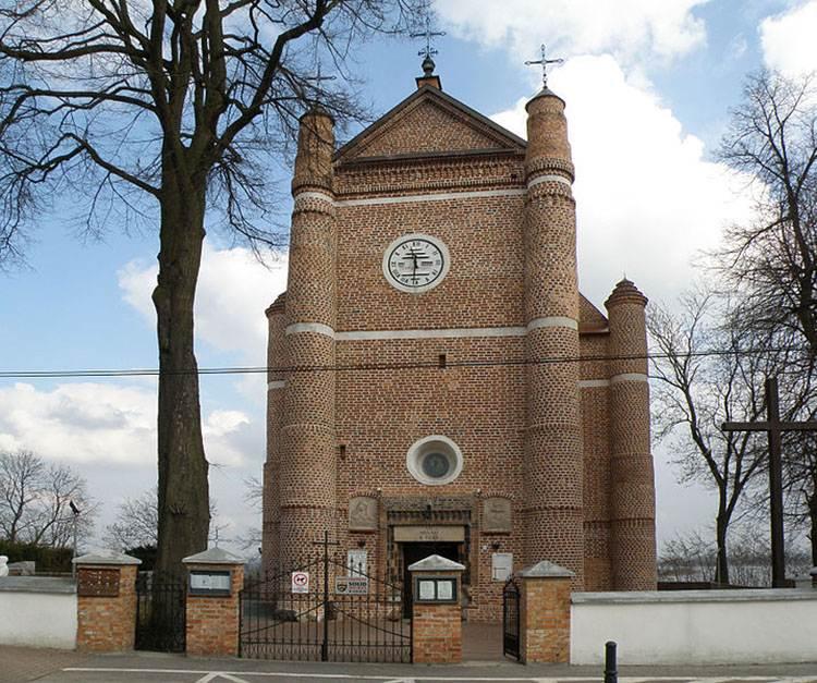 Serock ciekawostki kościół