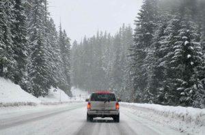 jazda zima samochód kierowca kierowanie