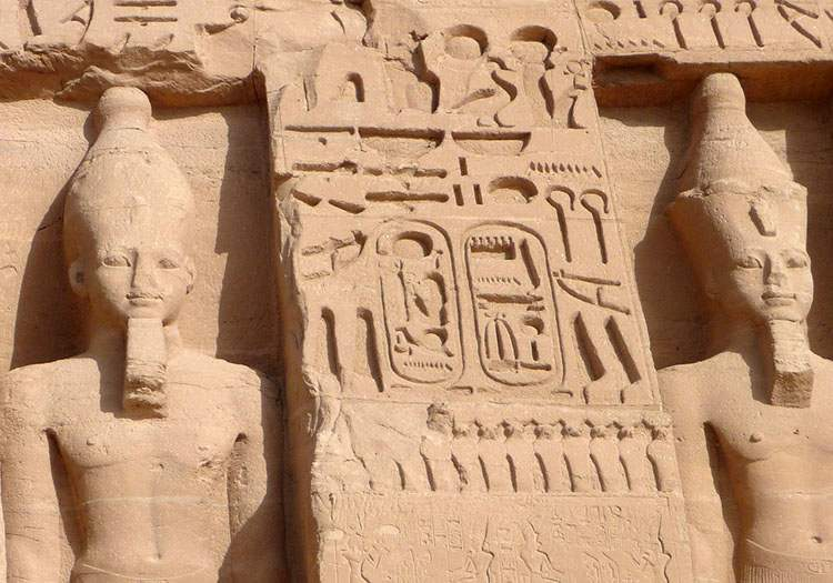 faraon Ramzes II grób Abu Simbel starożytny Egipt