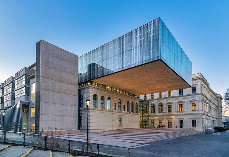biblioteka uniwersytet Graz ciekawostki Szwajcaria