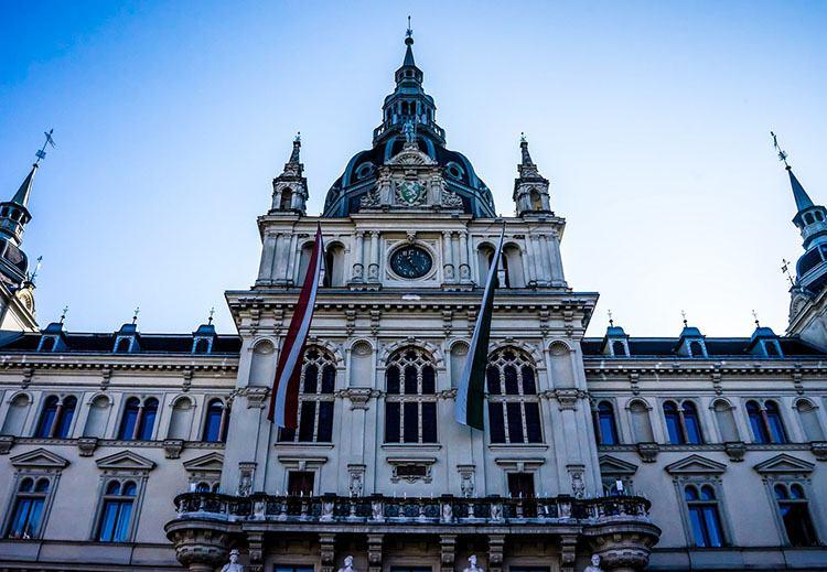 ratusz Graz ciekawostki Szwajcaria