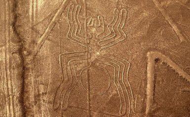 Słynne rysunki z Nazca. Peru
