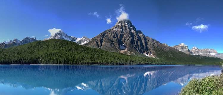 góry Skaliste Kolumbia Brytyjska Kanada ciekawostki