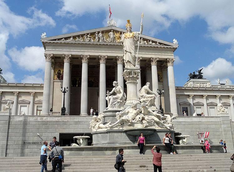 parlament Austrii Wiedeń ciekawostki Austria