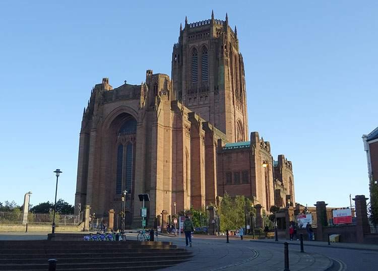 katedra Liverpool ciekawostki zabytki atrakcje