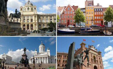 Najbardziej zielone stolice Europy