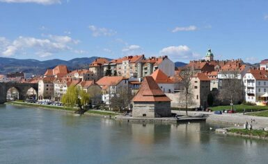 Słoweńskie miasto Maribor